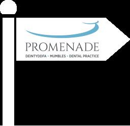 Signpost with Promenade Logo